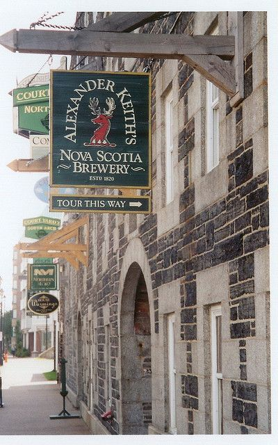 Keith's Brewery in Halifax, Nova Scotia ~ This is great beer!