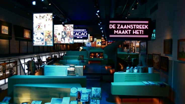 A video of the new media show at the Zaans Museum that shows the industrial revolution of the region of Zaandam. Using old and new film material Rnul created a multi…