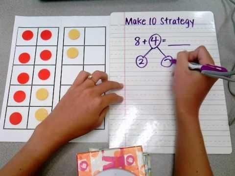 Make 10 Strategy for Addition - YouTube