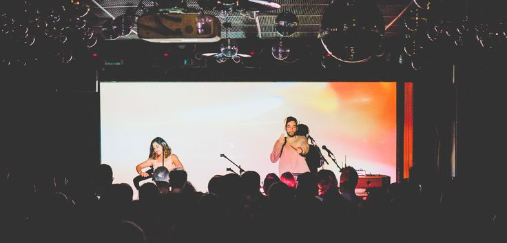 Australian duo Vallis Alps played to a sold out crowd at The Drake Hotel Monday night. It was their first ever visit to Toronto, and the energetic pair didn't disappoint.