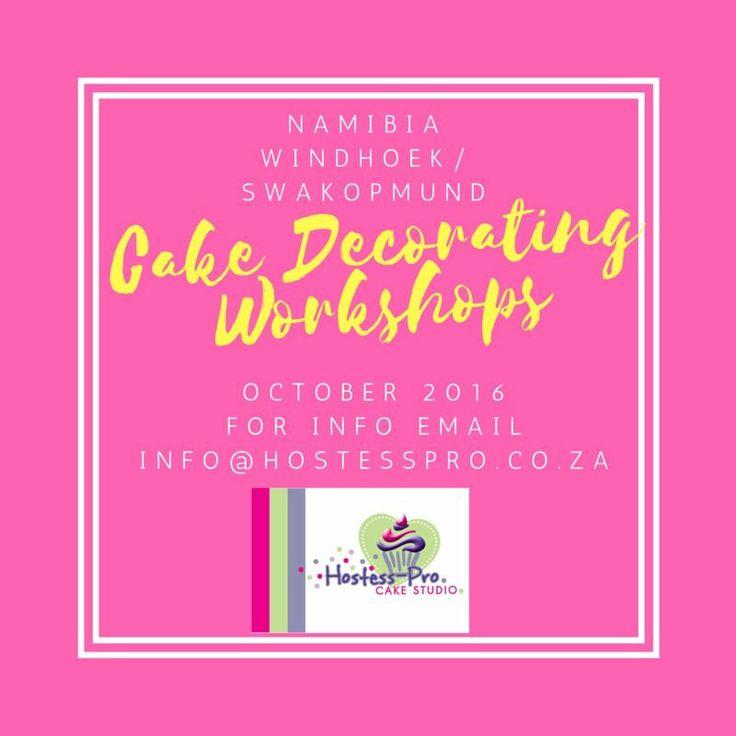 Sugarcraft and Cake Decorating Workshop @hostesspro #cakedecorating
