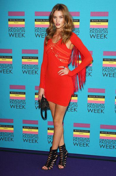 Rosie Huntington-Whiteley    Graduate Fashion Week 2009