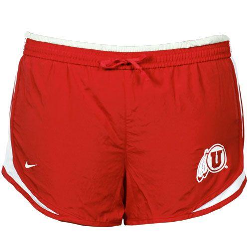 University of Utah workout shorts from the Utah RedZone #nike #utahutes @Utah RedZone