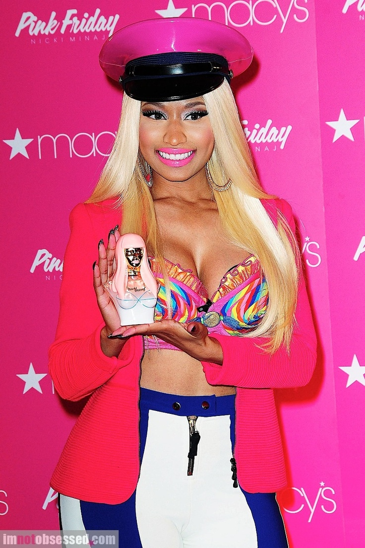 Nicki minaj launches her pink friday perfume