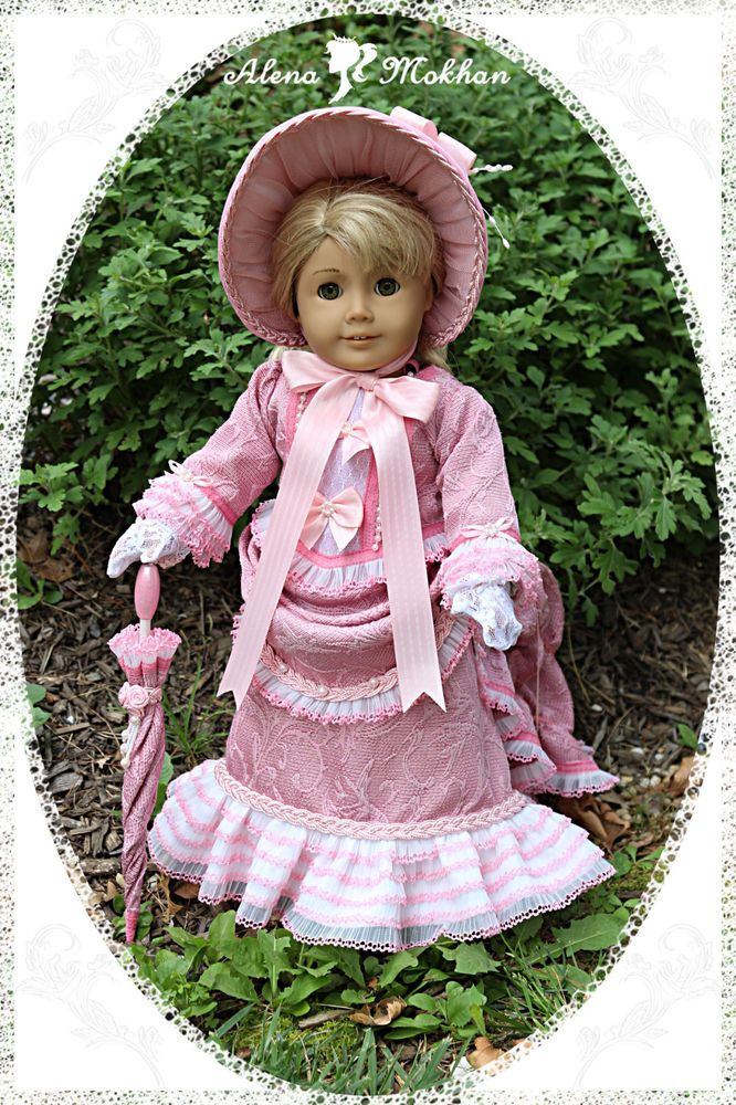 Victorian style doll dresses