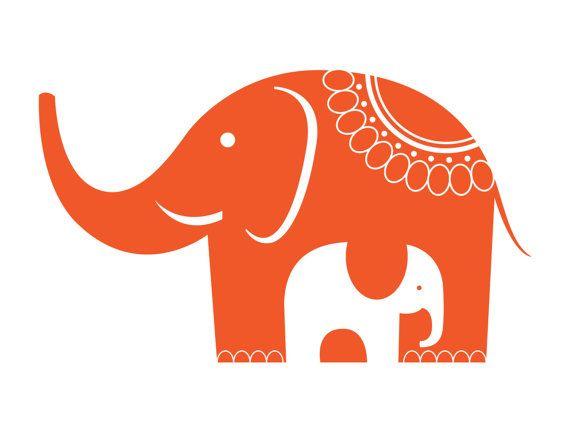 Elephant Art print by Studioeighty on Etsy