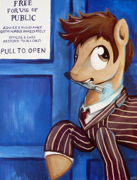 Doctor whooves 10th doctor
