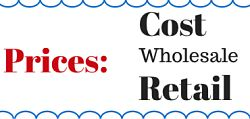 Prices: Cost, Wholesale and Retail