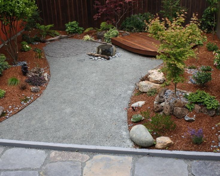Crushed Gravel Landscaping : Best images about crushed granite landscaping on