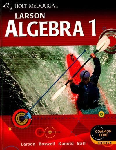 Algebra 1: Common Core Edition