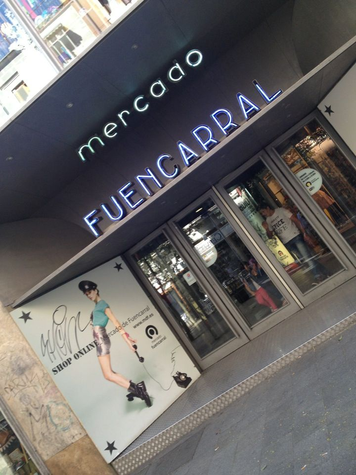 Mercado de Fuencarral -- http://www.timeout.com/madrid/shops/mercado-de-fuencarral.  Amid an atmosphere of modernity and creativity you'll find this urban market, an iconic of alternative groundbreaking fashion in Madrid. Built in 1998, the building has three floors with shops in which young designers show off their latest creations. Its more than 45 shops are an explosion of design, imagination and creativity. A must if you want to keep up with the latest trends.