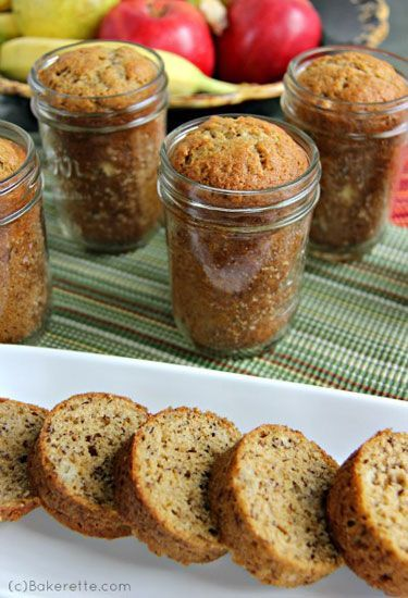 These mini banana breads in a jar are delightful and are perfect for a potluck dinner, baby shower, or housewarming gift.
