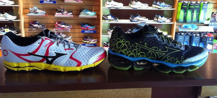 New Men's Mizuno Wave Prophecy and Hitogami just got in the store! Come check it out!