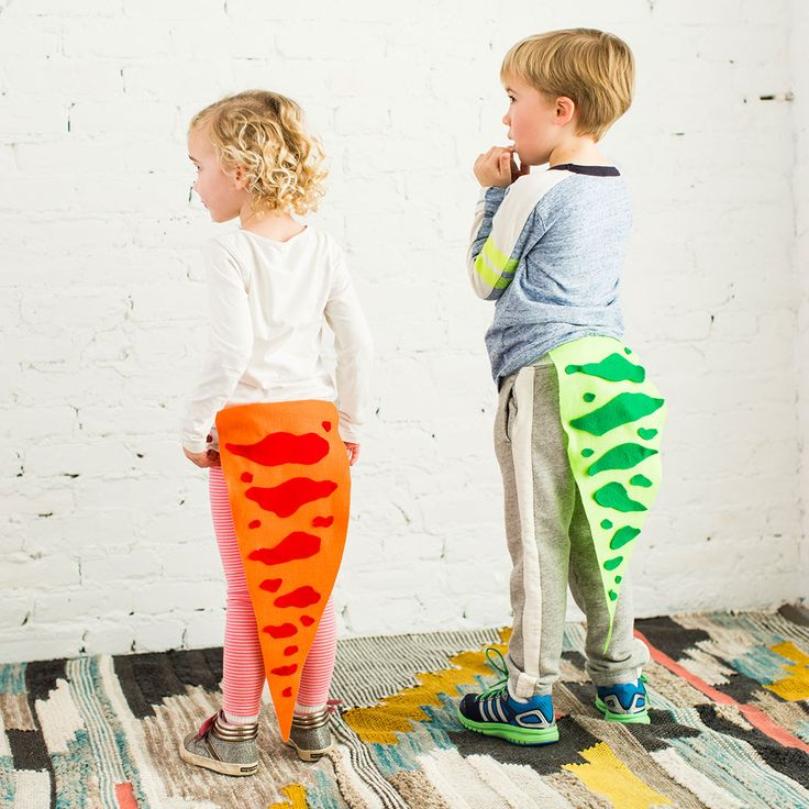 Fashion Alert: These Dinosaur Tails Will Be a Big Hit in Your Kid's Wardrobe via Brit + Co