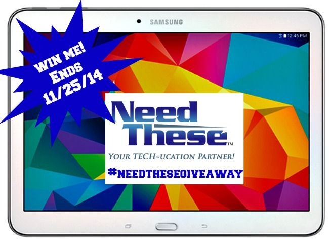 WIN a Samsung Note Tablet from NeedThese - Your Tech~ucation Partner! #NeedTheseGiveaway
