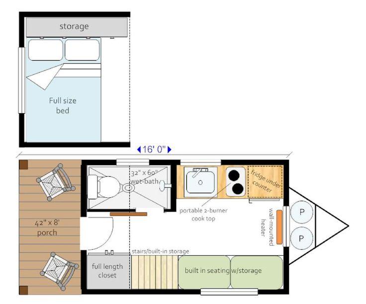 232 besten tiny houses bilder auf pinterest kleine h user tierheime und haus pl ne. Black Bedroom Furniture Sets. Home Design Ideas