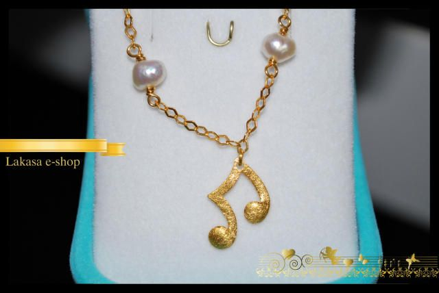 Music Lovers Bracelet Sterling Silver Gold plated with 4 Pearls in Chain Fine Jewelry Best ideas gift forher birthday anniversary woman girl #music #bracelet #jewelry #silver #jewellery #gift #woman #moda #luxury #fine #joyas #mujer #βραχιολι #ασημι #γυναικα #δωρο #κοριτσι #μουσικη