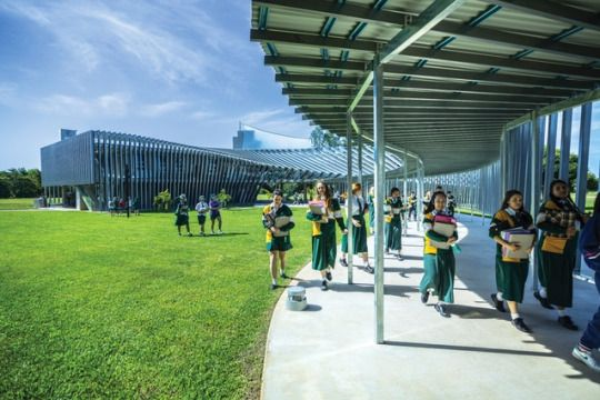 Trinity Anglican School by Charles Wright Architects