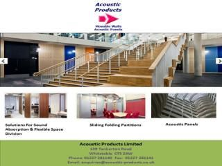 Acoustic-Products has the most acoustical products including: sound Absorption, Flexible Space Division, Sliding Folding Partitions,Acoustic Panels, Topperfo acoustic panels,Topakustik acoustic panels and Movable walls systems.