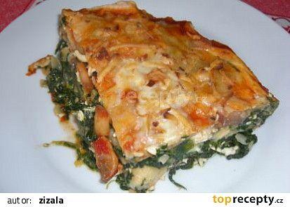 Lasagne bez masa recept - TopRecepty.cz