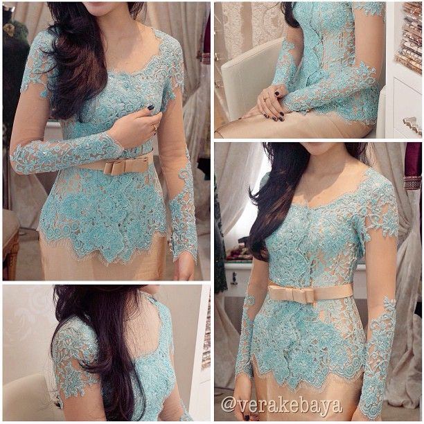 vera kebaya--Indonesian lace in this is called Kebaya. Gorgeous!