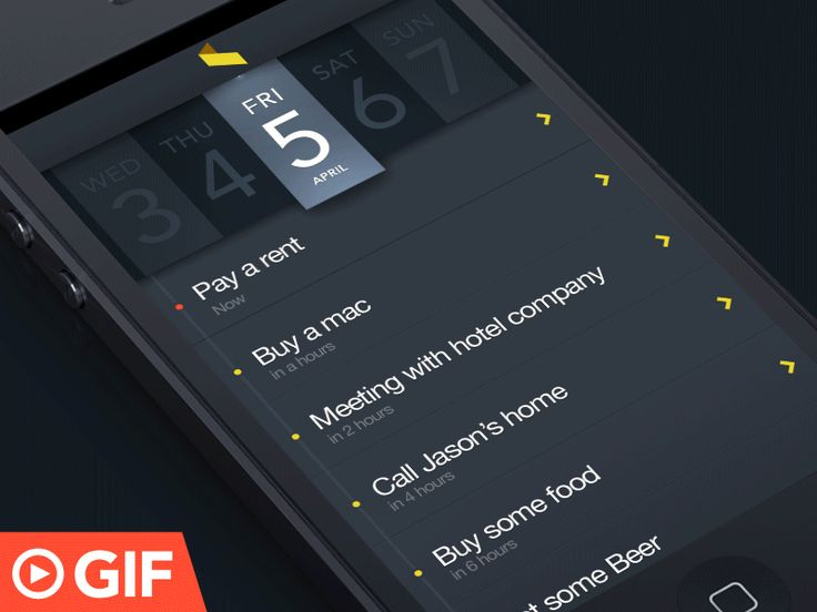 GIF : Delete task and assign task to your teammate in action