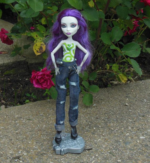 Jeans and top for Monster doll MH doll outfit by LussiFashion