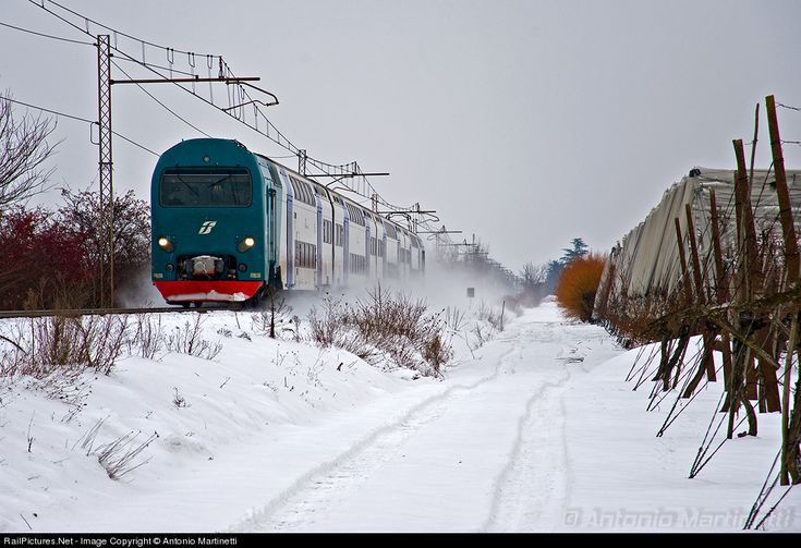 RailPictures.Net Photo: TAF 045 Trenitalia TAF at Solarolo (RA), Italy by Antonio Martinetti