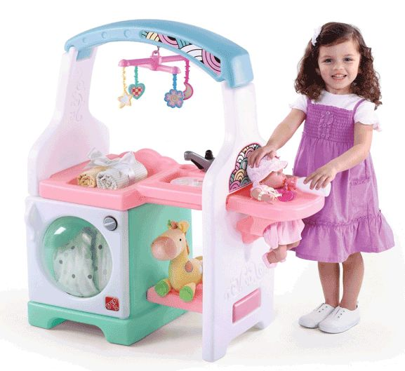 Kylie loves to take care of her baby dolls. She'd have so much fun with this!
