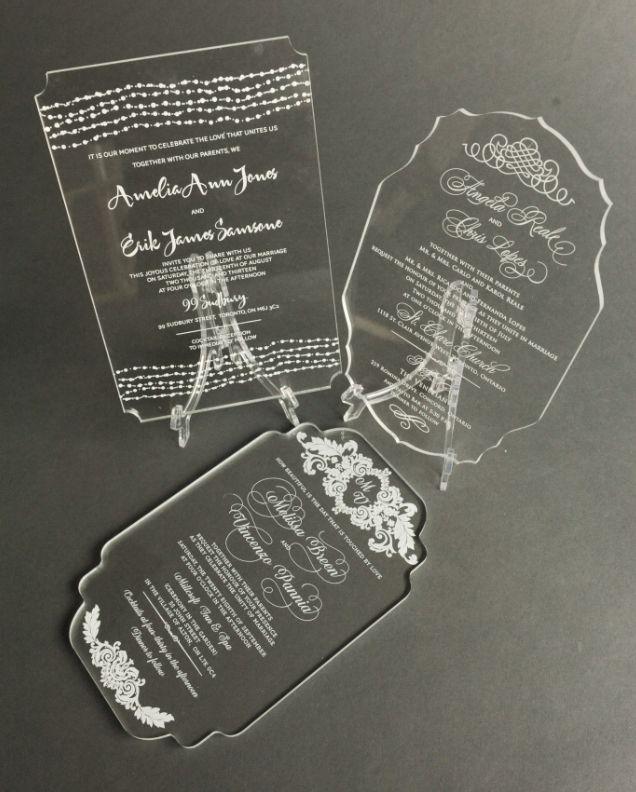 Unika, personliga, inbjudningskort, glas, bröllop, unique, personal, wedding invite