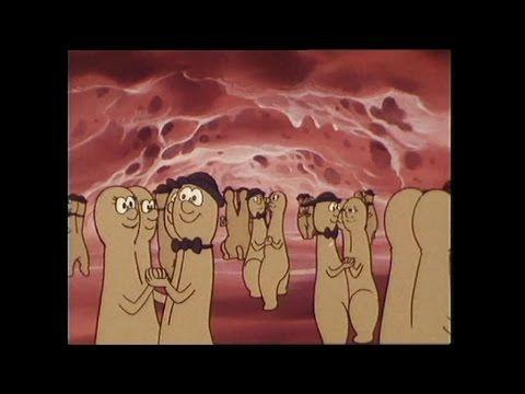 Heel oud filmpje die ik nog ken van vroeger. Het gaat over het lichaam en deze aflevering gaat over de geboorte. Je kunt ook beginnen bij 3.07 minuten en laat dan animatie zien van hoe de sperma zijn weg gaat naar de eicel.