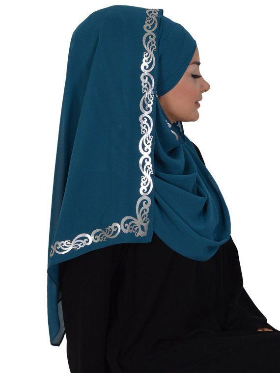 Chiffon Express Hijab Code:CPS-0001 Muslim Women by HAZIRTURBAN