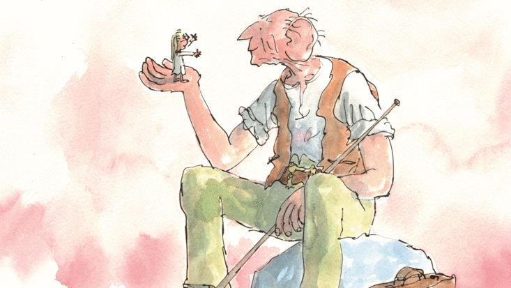 An art and literacy lesson plan themed around The BFG and his wondercrump language fromthe Roald Dahl Website