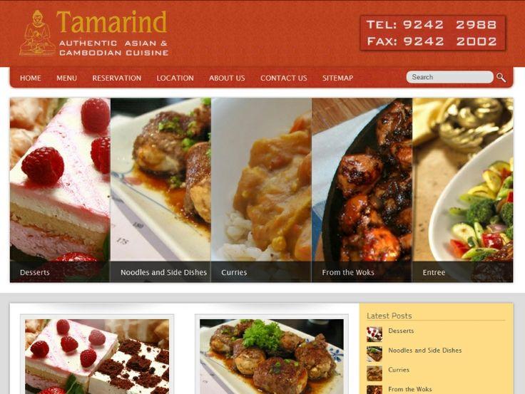 Rich looking website from Internet Marketing Portfolio
