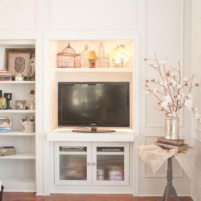 Built In TV Cabinet Design Ideas, Pictures, Remodel, And Decor · Tv Cabinet  DesignLiving Room ...