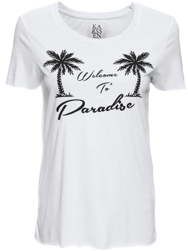 Welcome to Paradise T-Shirt - White | ZOE KARSSEN | Designers | Buy online at Shop-Label.com