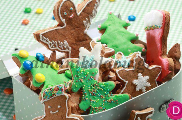 Μπισκότα Χριστουγεννιάτικα με τζίντζερ από την υπέροχη Ντίνα Νικολάου | eirinika.gr