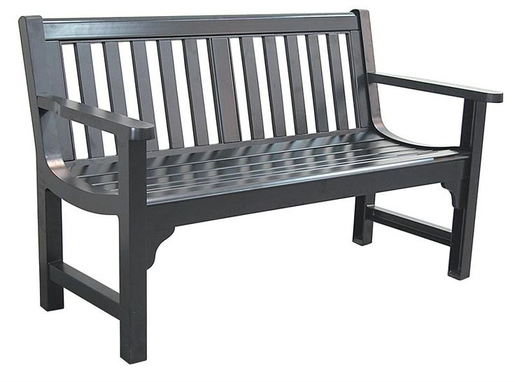 Black Metal Park Bench, Outdoor Bench   C624 37 | Decor | Pinterest |  Gardens, Parks And Shopping