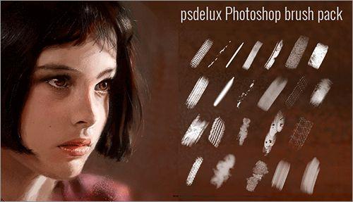 デザインやイラストの質感アップに効果あり!無料でダウンロードできるPhotoshopのブラシのまとめ  人物の肌や髪に質感を与えたり、水彩や油絵やペン画のようなタッチに仕上げたり、レース柄や水滴などがさっと描けたり、マンガで使うスクリーントーンなど、イラストやお絵描きやデジタルアートなどに無料で使えるP