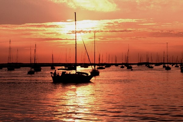 Atlantic Highlands,NJ harbor. Have watched many sunsets from this angle! And a few sunrises!