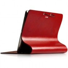 The beautiful and stylish Arc Cover, designed for the new iPad 3 and iPad 2, is the ultimate in luxury and taste. Hand-crafted from flexible, genuine Italian calfskin leather it is much more than only a protective cover.