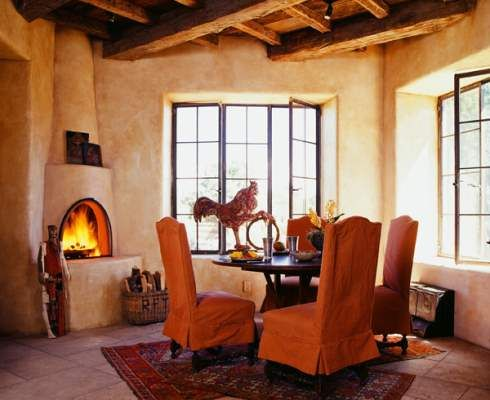 Kiva Fireplace Decorating Southwest Pinterest The O
