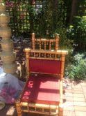 Our selection of bridal chairs