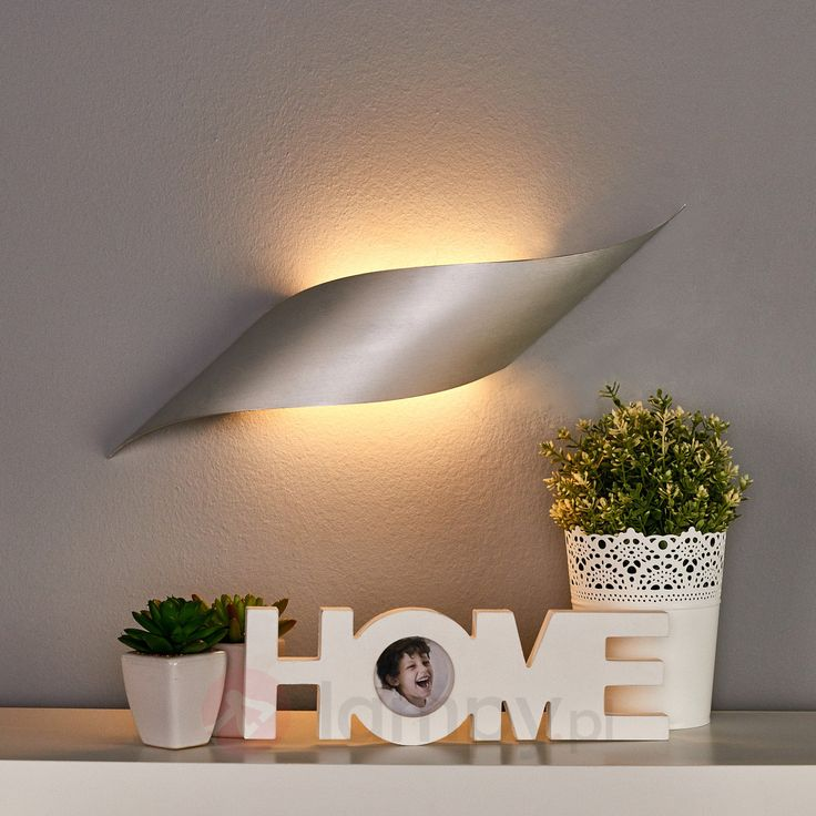 Lampa ścienna LED Rizz, 50 cm, aluminium 6026535
