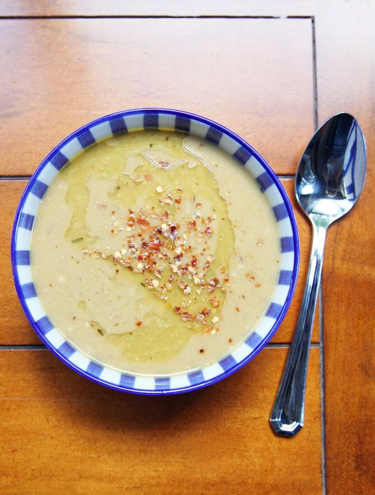 """Whether you follow the """"vegan before 6 p.m."""" routine, or taking a Beyoncé-like vegan challenge, it seems like more and more of us have tried a vegan diet. Pictured: Vegan Chickpea Soup Recipe"""