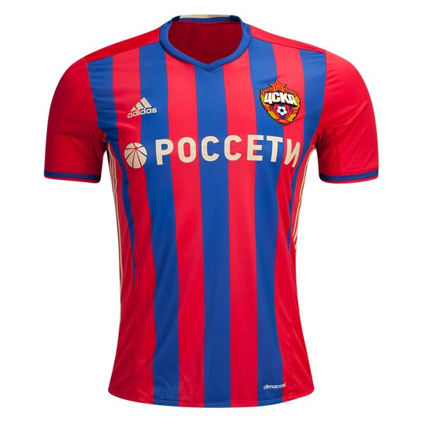 CSKA Moscow 16/17 Home Soccer Jersey  | $89.99 | Holiday Gift & Stocking Stuffer ideas for the CSKA Moscow fan at WorldSoccerShop.com
