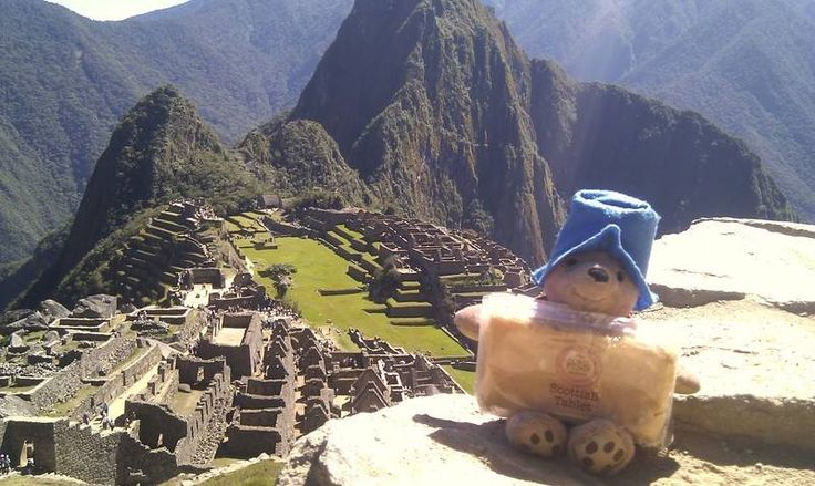 Even Paddington takes Ochil Fudge Scottish Tablet back to Peru - where do you take yours? Send us a photo.....