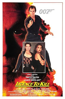 Licence to Kill, released in 1989, is the sixteenth entry in the Eon Productions James Bond series and the first one not to use the title of an Ian Fleming novel.