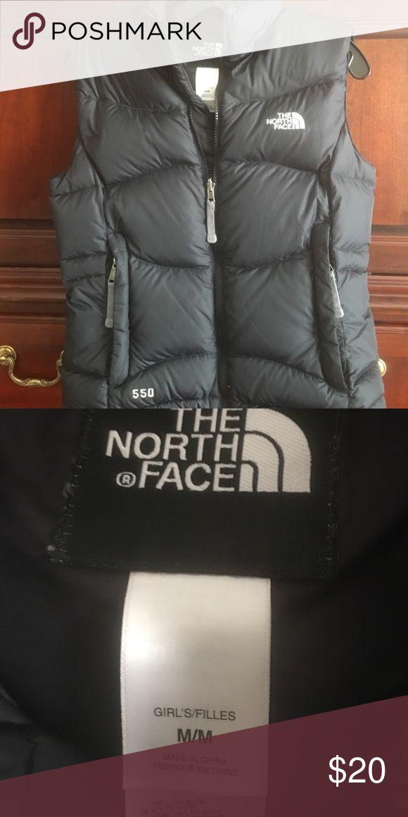 GIRLS north face vest Black ski vest approx. girls 10/12 (kids) North Face Jackets & Coats Vests