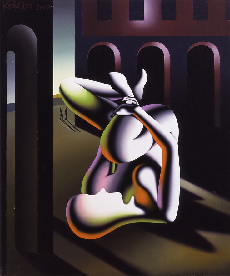 Mark Kostabi - Escape Within